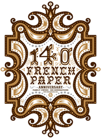 French Paper 140th Anniversary Poster